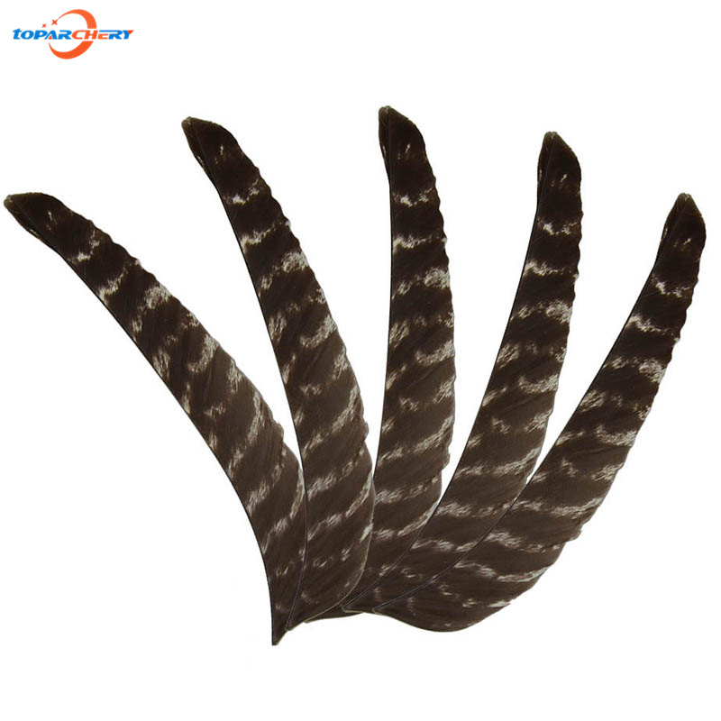 ФОТО 50pcs Bow & Arrow 7.8 inch Real Feather for Compound Bow Wooden Arrows Hunting Shooting Accessories Handcraft Right Fletching