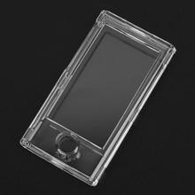 цена на Clear Hard Shell Plastic Case Front Back Full Protection For Apple iPod Nano 7