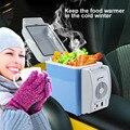 Mini Refrigerador Del Coche 7.5L Portátil 12 V Auto Calidad ABS de Múltiples Funciones del Refrigerador Congelador Del Refrigerador Más Caliente para el Hogar de Viaje Camping