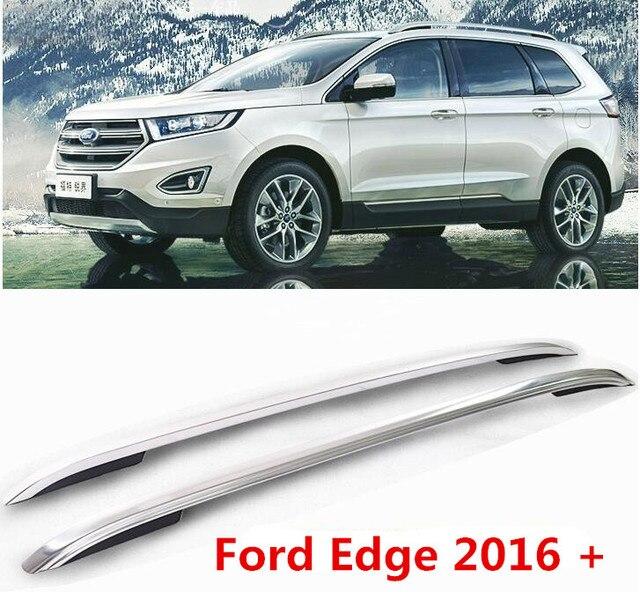 Jioyng Aluminum Alloy Car Roof Rack Baggage Luggage Bar For Ford Edge  Free Fedex Ie