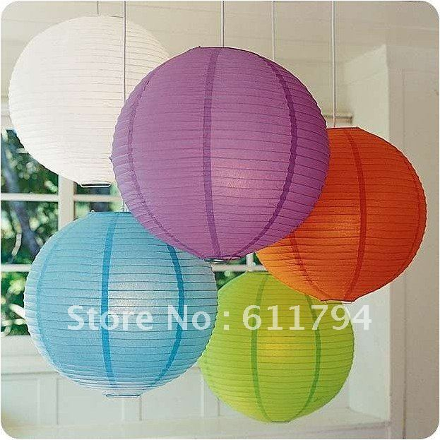 Round chinese paper lamp shade party supplies halloween round chinese paper lamp shade party supplies halloween christmas wedding favour decorations on aliexpress alibaba group aloadofball Gallery