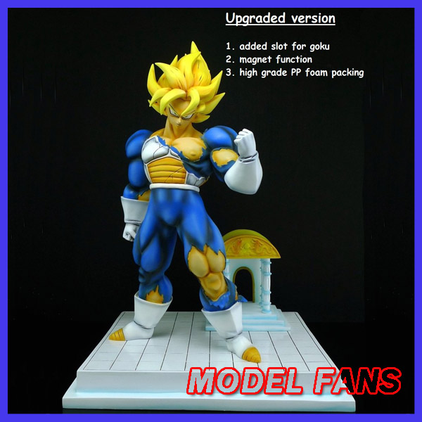 MODEL FANS IN-STOCK Dragon Ball Z 35cm super saiyangoku and time house GK resin statue figure for Collection model fans in stock dragon ball z mrc 30cm son gohan practice gk resin statue figure toy for collection