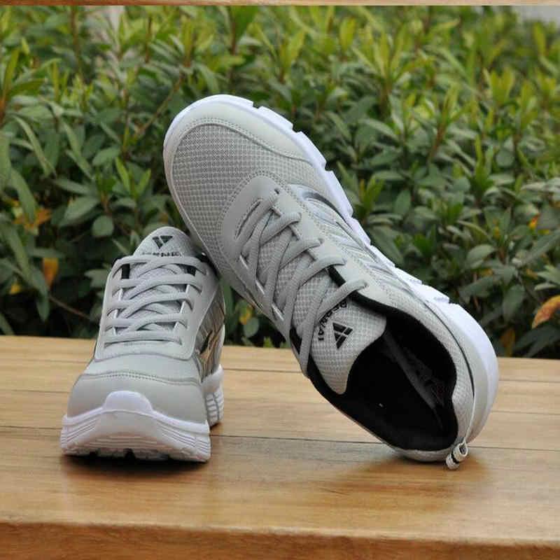 02e4c4bfa ... 2018 New Hot Light-weight Running Shoes White Men Sport Shoes SMART  CHIP Mens Black ...