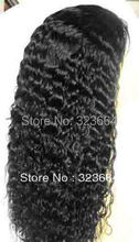 Full Lace Cap 100% Indian Remy curly Wig 18″