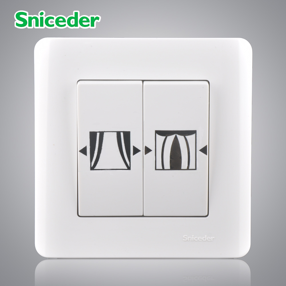 Scinder manual switch curtains separate electric household electric ...