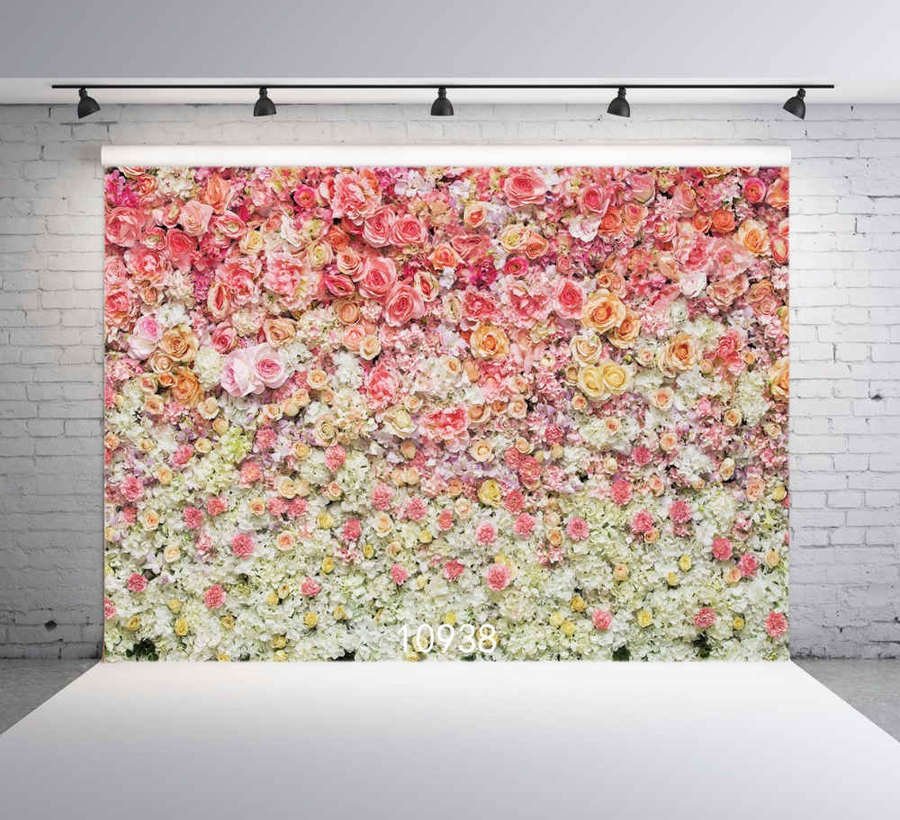 SJOLOON Spring photography background flowers photography backdrops for lover and baby photo backdround photocall photo studio