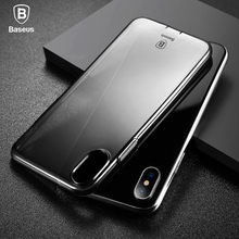 Baseus original brand Transparent case for iPhone 7 case Ultra Thin phone cover for iPhone 7 Plus cases back TPU silicon shell baseus simple tpu case for iphone 7 plus transparent