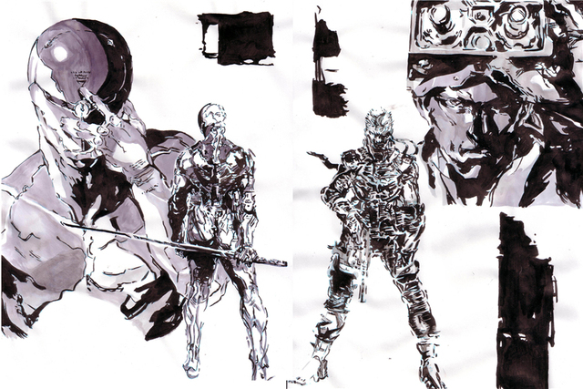 Custom-Canvas-Art-Metal-Gear-Solid-Metal
