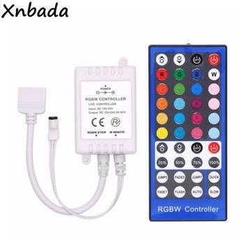 40 klawiszy RGBW RGBWW pilot zdalnego sterowania Led DC12-24V 2A * 4CH dla 2835 5050 SMD elastyczna taśma Led taśmy światła tanie i dobre opinie Xnbada CN (pochodzenie) Button RGBW Led Controller 2-5m Kontroler rgb 1Years RGB RGBW RGBWW Led Strip Light ROHS 12-24 v