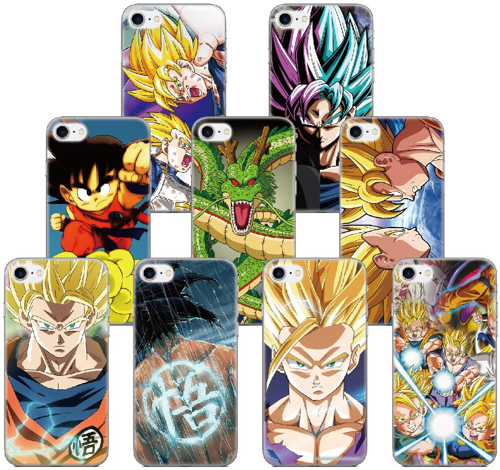 Dragon Ball Z Super Goku Soft Silicone Case For Samsung Galaxy A5 A6 Plus A7 A8 A9 2018 J3 J5 J6 J7 2016 2017 Eu Version Fitted Cases