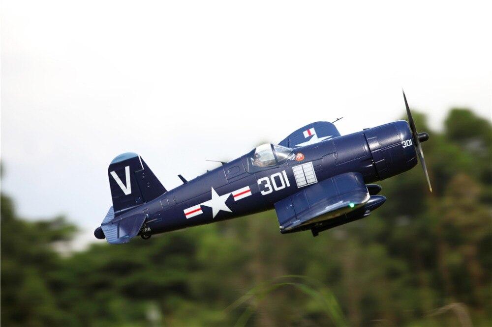 """FMS 1700 MM 1.7 M (66.9 """") f4U obsługi Corsair 6 S 6CH się z klapy chowa się PNP RC samolot duży samolot stałe skrzydło model samolotu statków powietrznych Avion w Samoloty RC od Zabawki i hobby na  Grupa 3"""