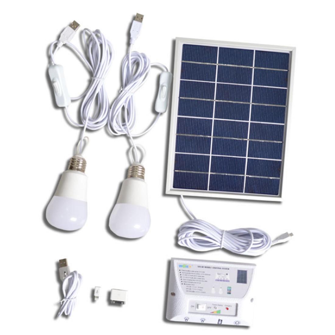 Sopatio solar power bank lighting system portable home - Solar air heater portable interior exterior ...