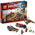 253 pcs Ninjagoed Ninja figuras de Brinquedo Crianças Brinquedos Educativos Compatíveis Com LEGOE