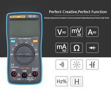 BSIDE Ture RMS ZT101 Auto Digital Multimeter 6000 Counts Backlight AC/DC Current Voltage Ohm Tester Portable LCD Screen Meter