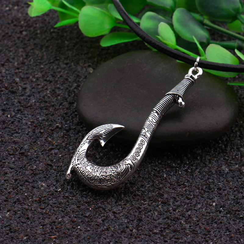 wholesale pendant mixed product imitation jewelry amulet bone hot carved style gift necklace hand hawaiian hook pcs fish