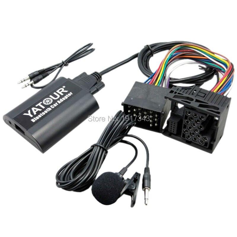 Yatour Bluetooth Car Adapter Digital Digital CD Changer 17Pin Switch - Ավտոմեքենաների էլեկտրոնիկա - Լուսանկար 3