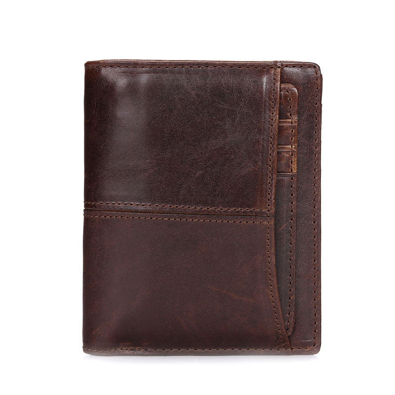 Genuine Leather Men Wallets Short Cow Leather Men's Wallet Business Card Holder Purse Men Coin Purse Male Wallet Short Money Bag стоимость