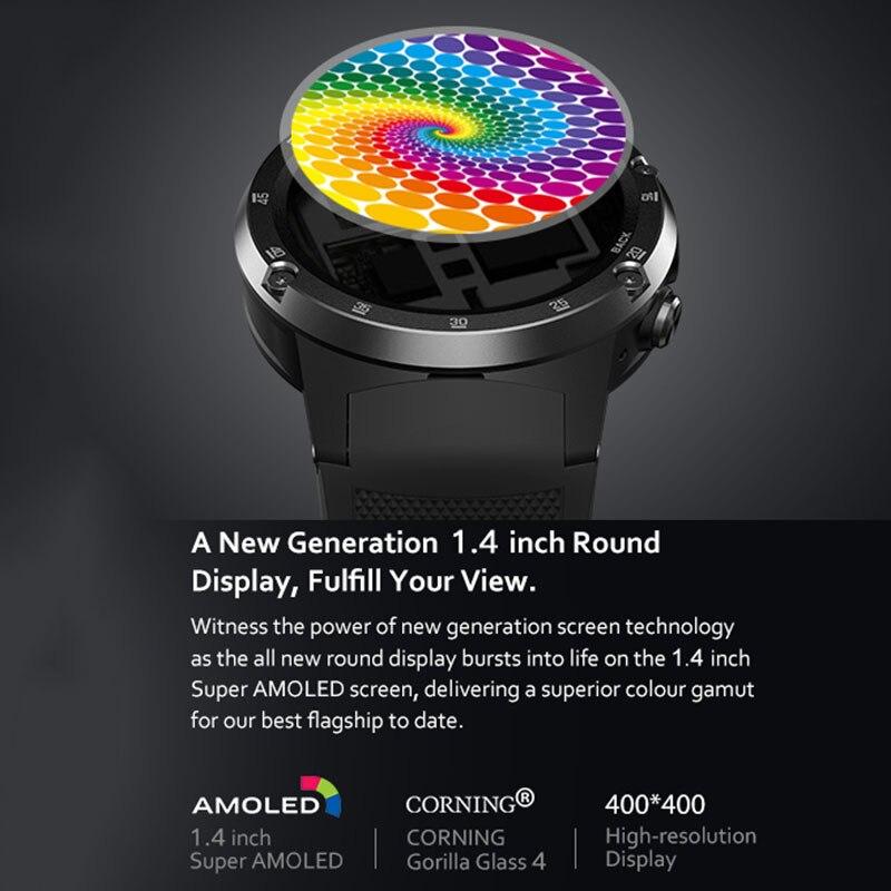 4G Lte Глобальный группы Смарт часы GPS android7.1.1 часы 4 ядра музыка бизнес Смарт помощник Смарт часы с встроенным телефоном zeblaze Thor 4 pro
