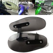 цена на Motorcycle wind shield handle hand guard ABS transparent handguards For Honda MSX125 MSX300 MSX 125 MSX 300 MSX125 300 PCX 125