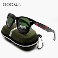 GOOSUN Green Glass Lenses Luxury Sunglasses Women Brand Designer Acetate Frame Sun Glasses For Women Multi