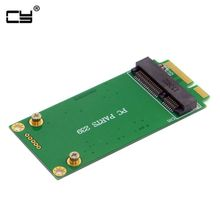 3x5cm mSATA Adapter to 3x7cm font b Mini b font PCI e SATA SSD for Asus