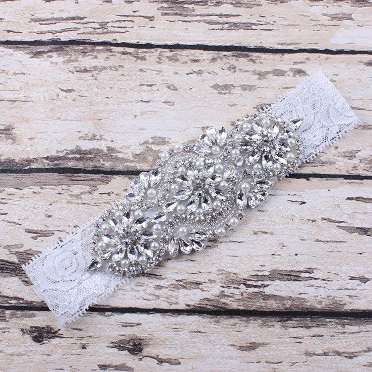 Бесплатная доставка Винтаж горный хрусталь, жемчуг детские кружевные Свадебная вечеринка повязка лента для волос для маленьких девочек по...