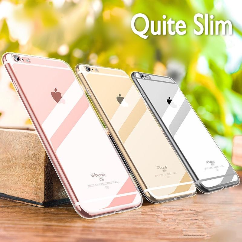 Coque en silicone souple Ultra mince pour Coque iPhone X XR XS Max étui pour iPhone 7 étui pour iPhone 8 7 6 6 S Plus 5 5 S SE 4 S