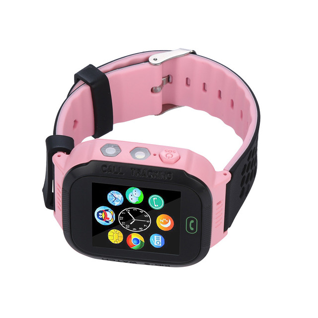 Q528 Smart Watch with GPS GSM Locator Screen Tracker SOS for Kids Children  Remote Camera Information Display Sports Pedometer