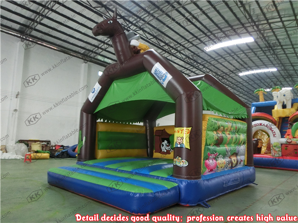 Inflatable Jumping Bouncer Play horse Bouncer