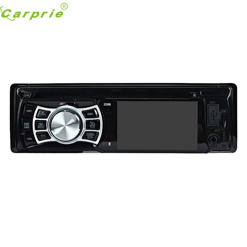 2016 New Car Stereo In-Dash FM Aux Input DVD/CD USB MP3 Receiver Player 2308 car usb aux headphone male jack flush mount mounting adapter panel input aux connector pro 3 5mm 12v for most car use 2017 new