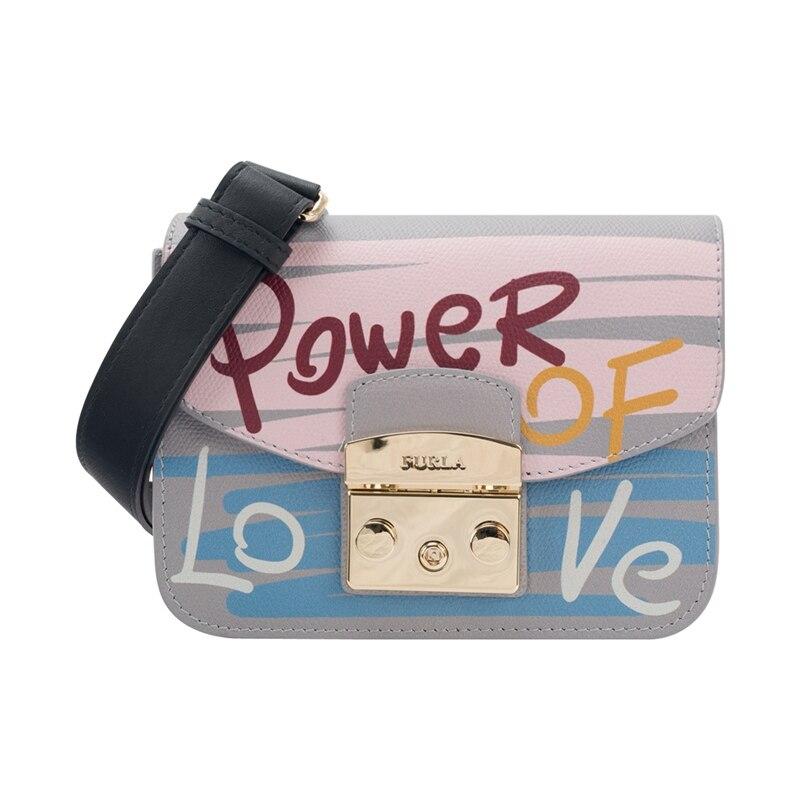 Furla Metropolis Mini Crossbody Bag Message Toni Leather BTA9/BTB4
