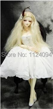 5Pcs / lot NEW Corn Curly Wavy Doll DIY Parykker For 1/3 1/4 1/6 BJD - Dukker og tilbehør - Bilde 6
