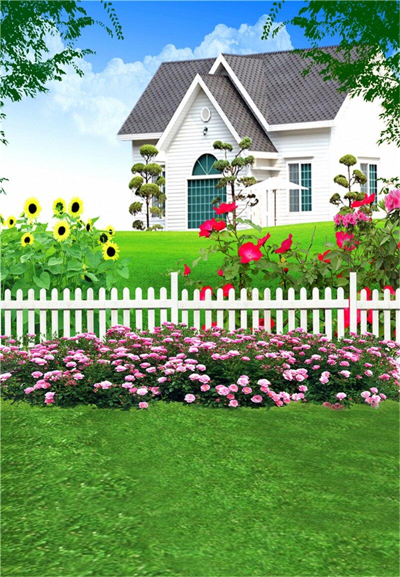 Stone House Garden Swings Hd ड स कट प Background