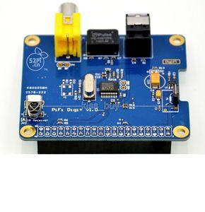 Image 3 - Цифровая звуковая карта HIFI DiGi + I2S SPDIF, оптический волоконный RCA Raspberry Pi 3/2 B +