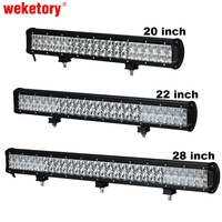 20 Inch 210W LED Work Light Bar For Tractor Boat OffRoad 4WD 4x4 Truck SUV ATV