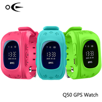 Smart Kid Safe Smart Watch SOS Call Location Finder Locator Tracker For Child Anti Lost Monitor