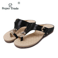 WEISE 2017 New Korean Anti Skid Breathable Comfort Sandals Large Size35 42 Diamond Summer Sandals Women