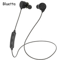 Bluetta BA 18 Bluetooth Earphone with Mic Sports Magnetic Wireless Earphone Headset with Super Bass for Any Bluetooth Device