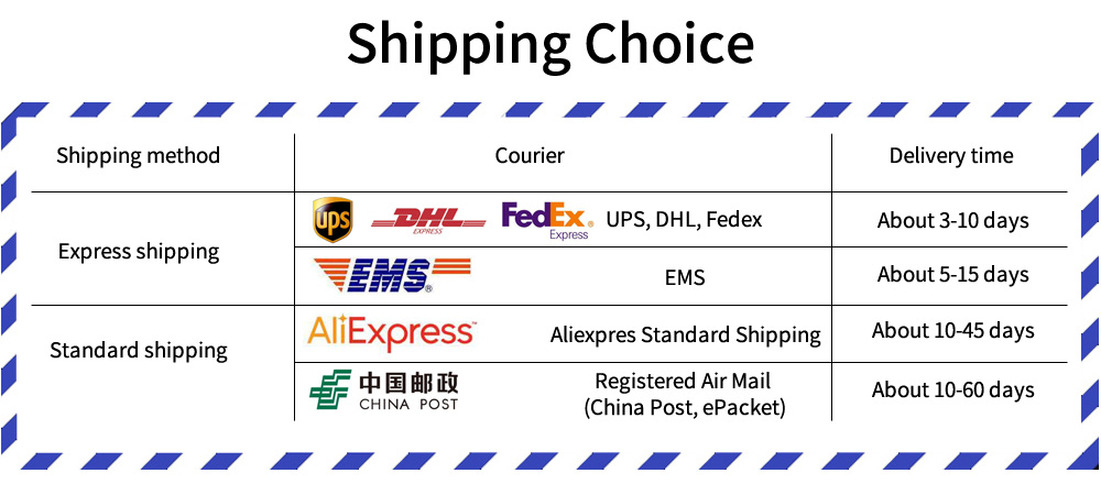 3 shipping time