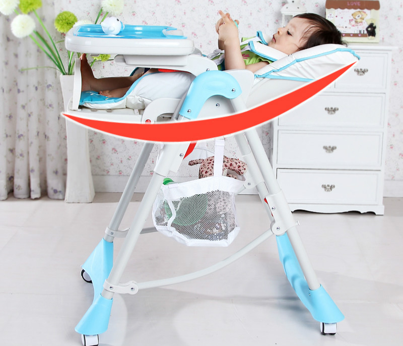 Multifunctional Luxury Baby Dining Chair Portable Folding Baby Highchair Newborn Infant Adjustable Soft Baby Feeding Chair dining chair child baby the design concept of high landscape equipp with feeding bottle water cup holder infant playing chair