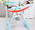 Multifunctional Luxury Baby Dining Chair Portable Folding Baby Highchair Newborn Infant Adjustable Soft Baby Feeding Chair C01