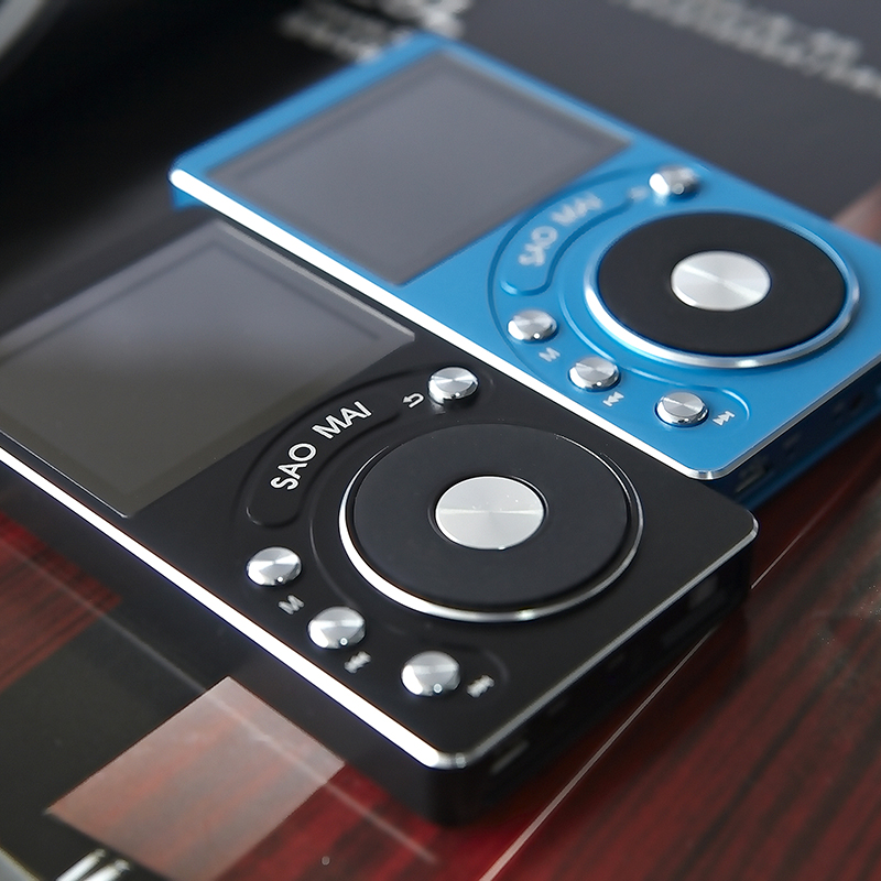 SaoMai SM4 + 32G/8G HIFI Haute Résolution DAC Sans Perte Portable MP3 Lecteur AK4490 DAC DSD Portable HIFI Musique Numérique Lecteur