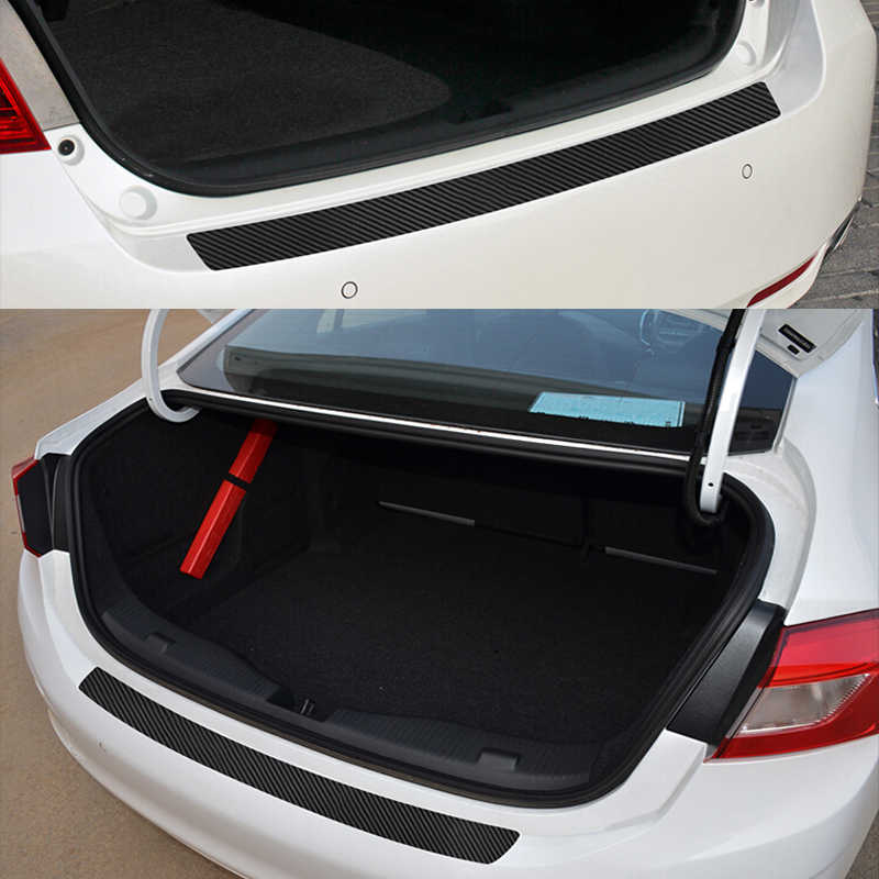 Bumper Guard For Suv >> Detail Feedback Questions About Possbay Black Car Rear Trunk Sill