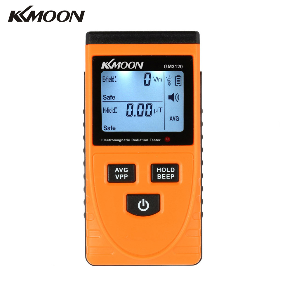 Rivelatore di Radiazione elettromagnetica Meter Tester Dosimetro Contatore per il campo elettrico radiazioni emissione di campo magnetico GM3120