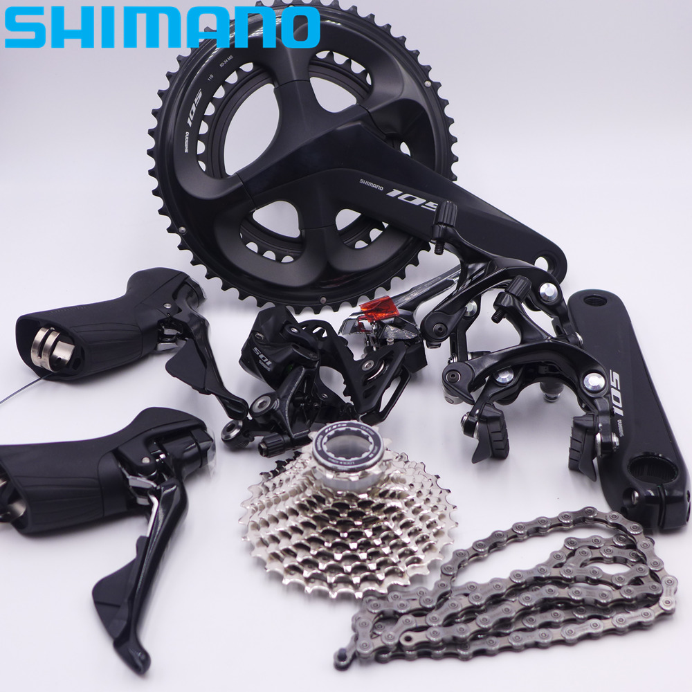 Groupe de dérailleur de vélo de route SHIMANO 105 R7000 2*11 vitesses nouveau
