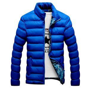 Image 3 - 2020 nouveau hiver vestes Parka hommes automne vêtements dhiver chauds marque mince hommes manteaux décontracté coupe vent matelassé vestes hommes M 6XL
