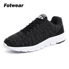 Fotwear Mens Lightweight stretchy sneakers Men casual Breathable shoes supports your native stride flexible outsole cushioning