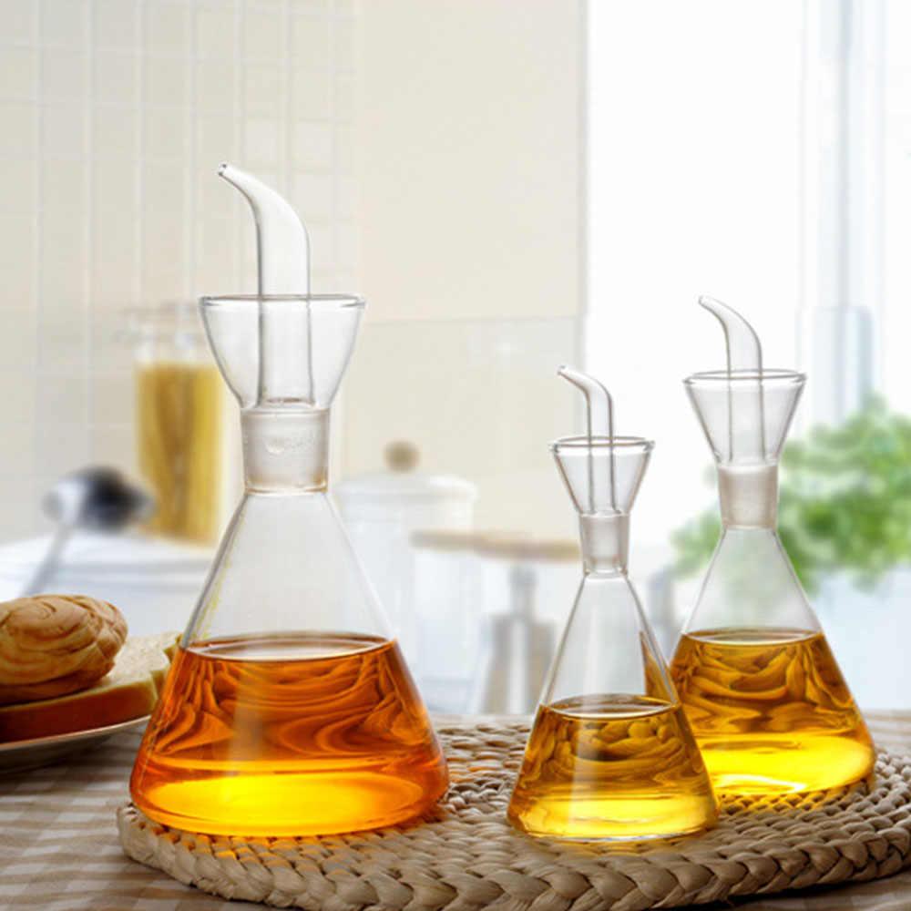 500 مللي/250 مللي/125 مللي زجاج زجاجة زيت الزيتون قطرات مانعة للتسرب زيت مكرر صالح للأكل الخل صلصة الصويا برطمان توابل وعاء لمستلزمات المطبخ