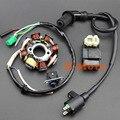 NUEVA GY6 150 8 Polos Magneto Estator Bobina Caja de la Bobina de Encendido CDI ATV Go Kart Ciclomotor 150cc Stock