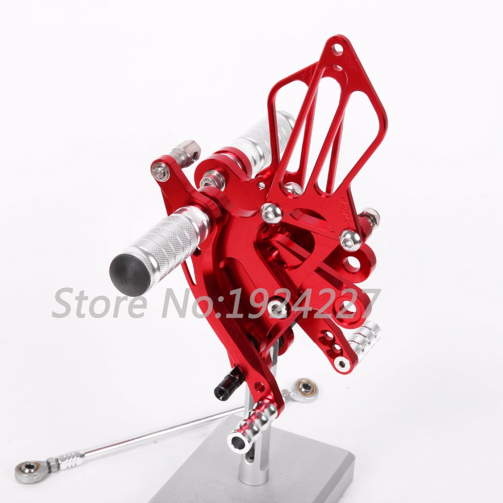 CNC Foot Pegs Rearsets Rear Sets Brake Shift Motorcycle For Kawasaki ZX14R ABS 2012-2016 8 Color Hot Sale High-quality 2013 8 color for ducati 999 949 749 748 916 996 998 cnc adjustable rearsets rear set motorcycle footrest hot high quality moto pedal